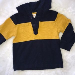 Gymboree boys rugby shirt, 2T
